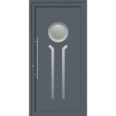 67096 Πόρτες εξωτερικές αλουμινίου ενεργειακές για πολυκατοικίες