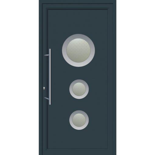 67101-Πόρτες εξωτερικές αλουμινίου ενεργειακές για πολυκατοικίες