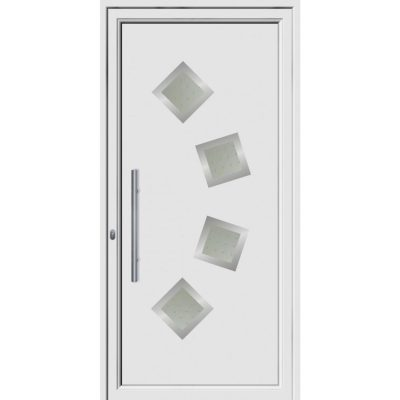 68017 πόρτες εξωτερικού χώρου Pvc exal