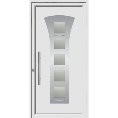 68051 πόρτες εξωτερικού χώρου Pvc exal
