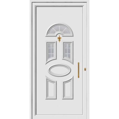 68087 πόρτες εξωτερικού χώρου Pvc exal