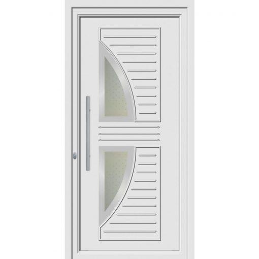 68121 πόρτες εξωτερικού χώρου Pvc exal για πολυκατοικίες