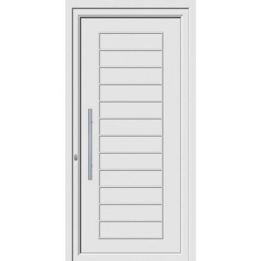 68140 πόρτες εξωτερικού χώρου Pvc exal για πολυκατοικίες
