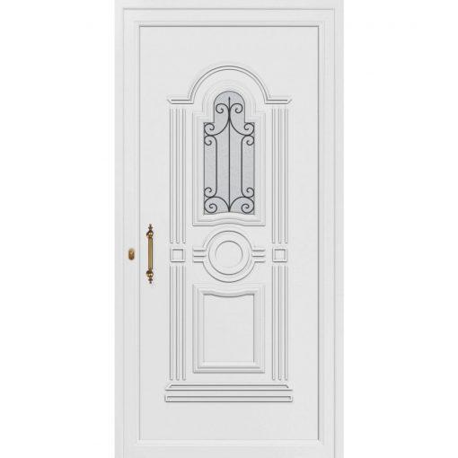 68324 Πόρτες εισόδου Pvc ενεργειακές exal για μονοκατοικίες