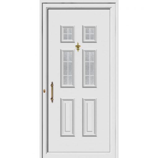 68422 Πόρτες εισόδου Pvc ενεργειακές με υψηλή θερμομόνωση exal