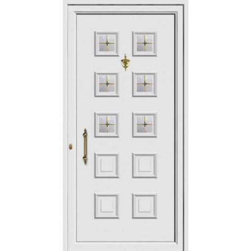 68443-Πόρτες εισόδου Pvc ενεργειακές με υψηλή θερμομόνωση exal