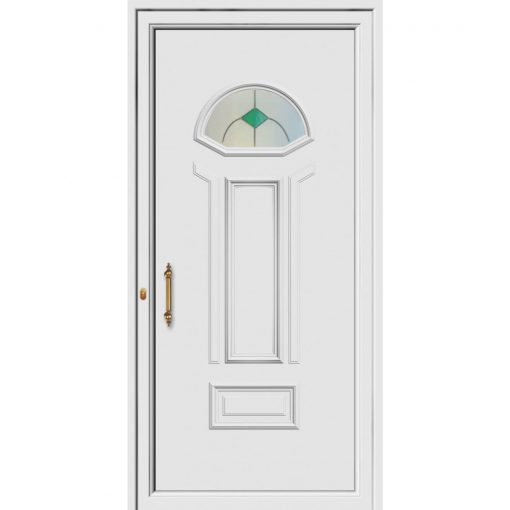68591 Πόρτες εισόδου Pvc ενεργειακές exal