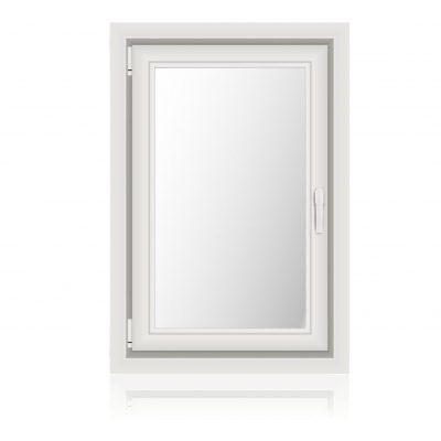 Κούφωμα Ανοιγόμενο για παράθυρο με Μονόφυλλο Τζάμι