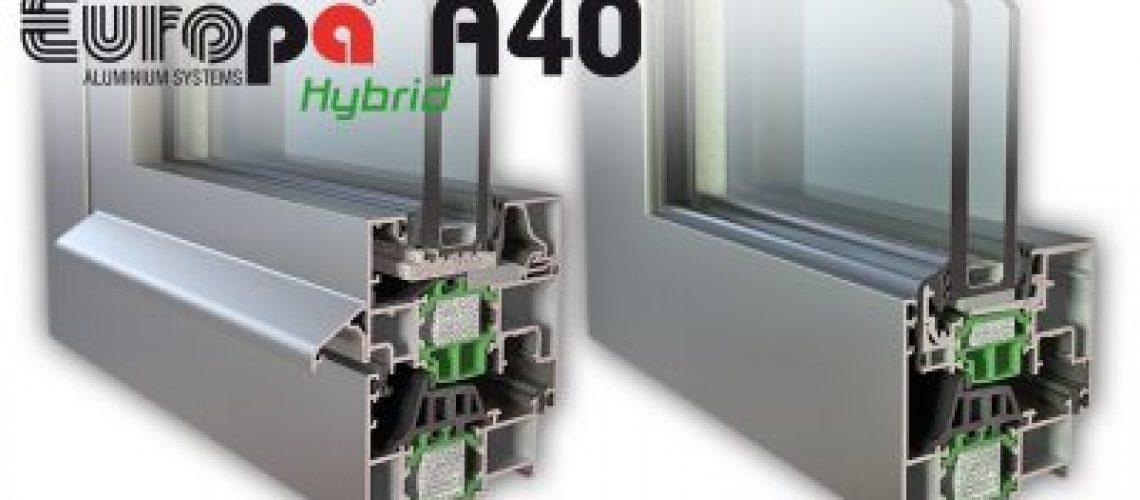 Hybrid A40 SI η νέα πρόταση της Europa στα κουφώματα υψηλών απαιτήσεων